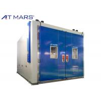 China Durable Walk In Environmental Chambers With Temperature Humidity Controls on sale