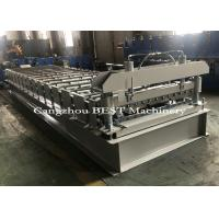 China IBR Ribs Color Steel Roofing Sheet Roll Forming Machine , Cold Roll Forming Equipment on sale