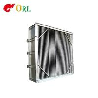 Power plant hot water boiler Plate Type Boiler Air Preheater Alloy Steel , Boiler APH Energy Saving Manufactures