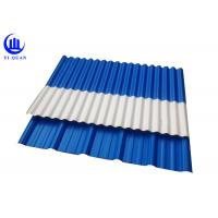 Asa Coated Corrugated Plastic Spanish Roof Tiles Round Wave And Trapezoidal Roof