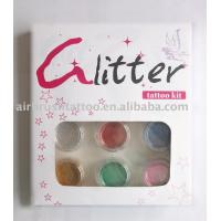 shimmer glitter tattoo set Manufactures