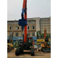 Quick Speed Solar Pile Driving Equipment 500kg Arm Weight Easy Maintenance Manufactures