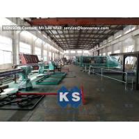 SGS Hexagonal Wire Mesh Machine For Heavy Duty Stone Gabion Box 3 X 1 X 1m Manufactures