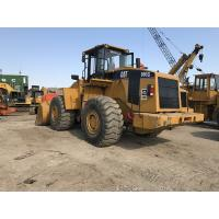 China A/C Cabin Used Compact Wheel Loaders / Caterpillar Loader 980G CAT 3406DITA Engine on sale