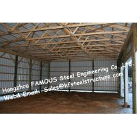 Chicken Poultry Shed Steel Construction and Animal Farm Building Steel Cow Shade Manufactures