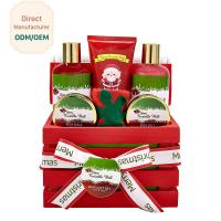 Home Relaxing Bath Gift Sets / Christmas Body Gift Sets Exfoliating Feature