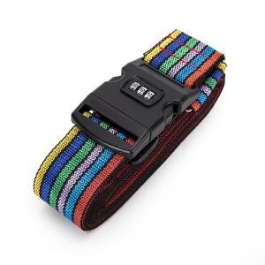 Cross Travel Suitcase Strap Safe Belt Strap Luggage Strap Luggage belt Manufactures