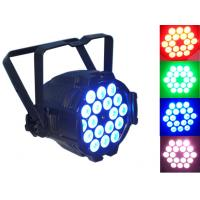 Wedding / Event Stage Lighting LED Par Can Lights Red Green Blue High Brightness Manufactures