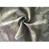Customized Printed Wool Fabric For Winter Coat Flame Retardant Manufactures