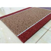 Heat Absorption EPDM Rubber Granules , Swimming Pools Wet Pour Rubber Granules Manufactures