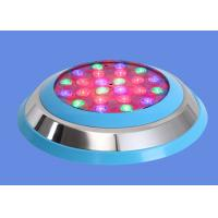 China 72w Waterproof Wall Mounted Underwater Led Lights For SPA Light Fixture Color Changing on sale