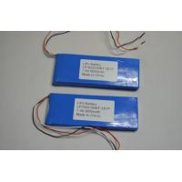 High Temperature Lithium Polymer Battery Packs 9000mAh for GPS Device Manufactures