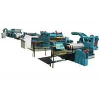 Wire Cutting Cut To Length Line Machine Coil Slitting High Performance