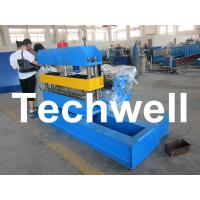 Hydraulic Custom PLC Control Roof Curving Machine With Speed Adjustable Manufactures