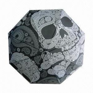 Custom umbrella with fiberglass ribs Manufactures