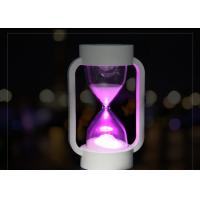 Battery Fun Electronic Gifts Colorful LED Night Light Time Sand Clock For Kids Manufactures