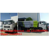 2019s best price and higher quality Dongfeng 190hp road sweeping and washing vehicle for sale,sweeper and washing truck Manufactures