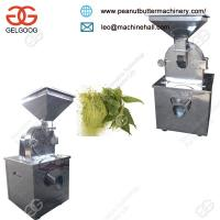 Best Factory Price Industrial China Herb Grinder Machine for Sale Manufactures
