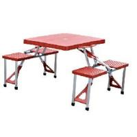 Folding Furniture - Outdoor Foldable Table Chair Sets (HT-F002) Manufactures