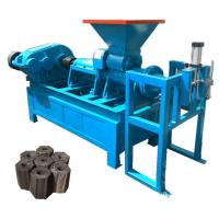 Hot Selling Coal Charcoal Briquette Briquetting Extruder Making Machine Price Manufactures