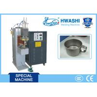 China CE Standard Capacitor Welding Machine , Cup Handle Stainless Steel Spot Welder on sale