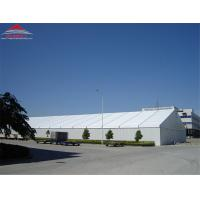 Tear Resistant Industrial Storage Tents With Double PVC - Coated Polyester Textile Fabric Cover Manufactures