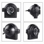 Weatherproof DVR Car Reverse Camera System 15 - 20M IR Range 1280 * 960 Pixel Manufactures