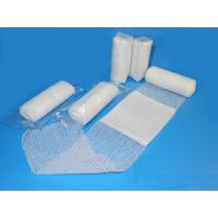 First aid conforming bandage with  pad medical bandages medical dressings Manufactures