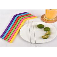 Non - Toxic Reusable Food Grade Silicone Straw Bar Accessories 100% Bpa Free Manufactures