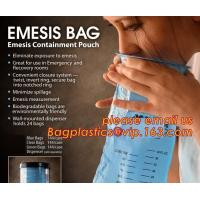 China disposable portable medical emesis bags,Disposal waterproof airsickness plastic vomit emesis bag,Pack of 50 Emesis Bag, on sale