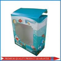 clear window paper custom color box made of high quality white chipboard Manufactures