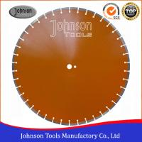 600mm Laser Welded Diamond Saw Blade Reinforced Concrete Cutting Disc Manufactures