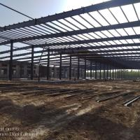 2018 new arrival Customize Prefabricated Galvanized Steel Structure Manufactures