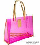 moisture proof eva school bag pu shoulder bag flat handle plastic bag, eve handle bags, pvc handle bags, striated bag wi Manufactures