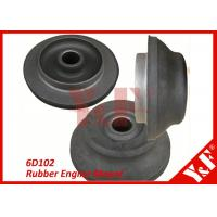 6D102 Rubber with Metal Flexible Engine Mounts Excavator Replacement Parts Manufactures