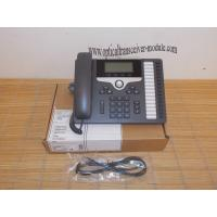CP-7861-K9 SIP 7800 Series VoIP IP Phone Wired Ethernet RJ45 Low Power Dissipation Manufactures