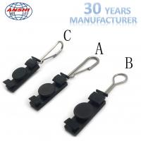 Anshi FTTX S Type Fiber Optic Accessories Stainless Steel Fasteners Dead End Clamp Manufactures