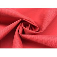 100% P Two Tone Look Cationic Soft Water Repellent Fabric For Outdoor Sports Wear Manufactures
