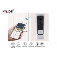 China Smart Motion Detection Front Door Security Camera Wireless Door Phone System on sale