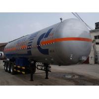 Built 12.8 m 24.2 tons of liquefied gas transport trailer 3 axle JC9409GYQQ Manufactures