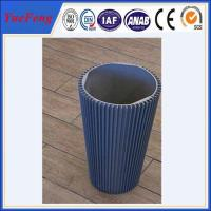 Hot! round aluminum heatsink, hollow aluminum extrusion heat sinks profiles Manufactures