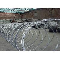Anping factory galvanized big coil diameter 960mm BTO22 BTO30 razor babed wire Manufactures