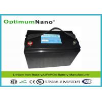 China High Power Output UPS 12V 100AH LiFePO4 Lithium Battery with PCM Environment Friendly on sale