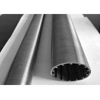 China Sand Control 2mm Stainless Steel Slot Pipe Abrasion Resistant ISO Listed on sale