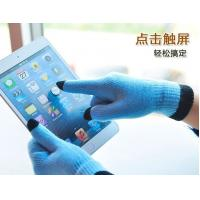 2013 fashion warm touch gloves for Smartphones and Tablets, 5-finger Touch knitted gloves Manufactures