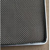 Frame Wire Mesh Tray For Food Baking , Dehydration , 304 Food Grade Manufactures
