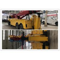 Buy cheap Rated pulling power of winch 25000kg VOLVO Road Wrecker 45m Length of steel from wholesalers