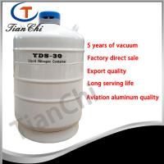 30L Cryogenic storage tank Factory direct sale 50 mm caliber cryogenic storage tank Manufactures