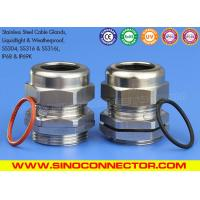China SS304, SS304L, SS316 & SS316L Stainless Steel Cable Glands Cable Joints with IP68 Rating on sale