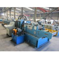 Cr12 Roller Material Changeable Automatic  CZ  Purlin Roll Forming Machine With CE Certificate Manufactures